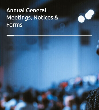 Annual General Meetings, Notices & Forms